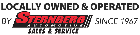 Locally Owned and Operated by Sternberg Automotive Group since 1967
