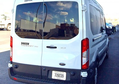 12 Passenger Van - Fits 10, 12 or 15 people
