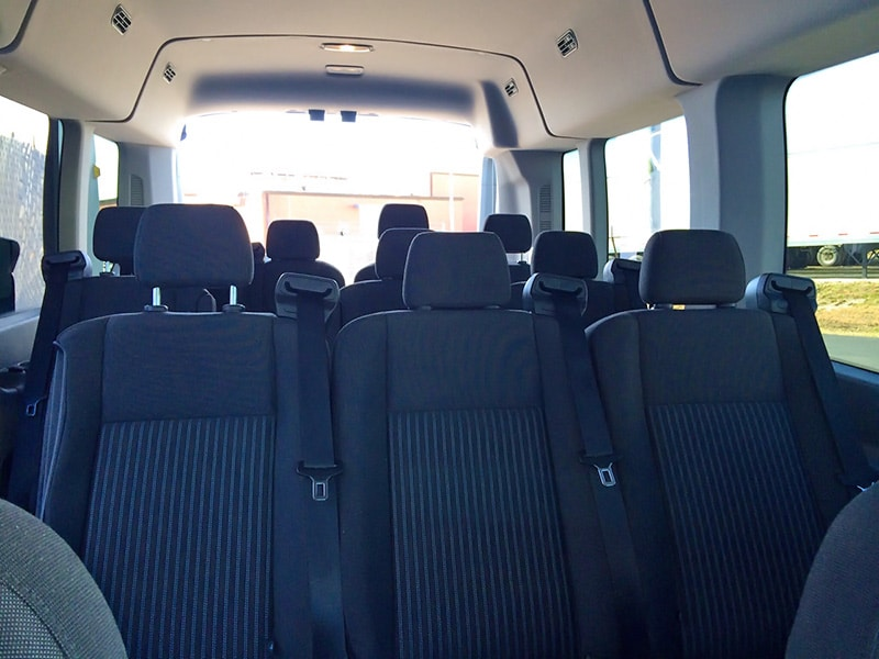 Car Roof Storage Rental Transit 12 Passenger Van Rental, Louisville KY