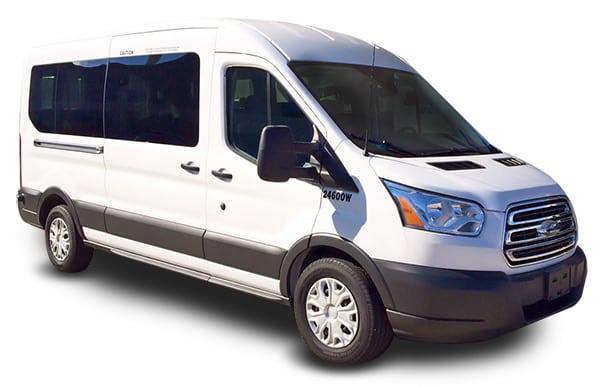 Transit 12 Passenger Van rental