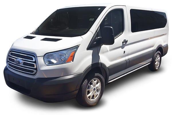 Transit 10 Passenger Van rental