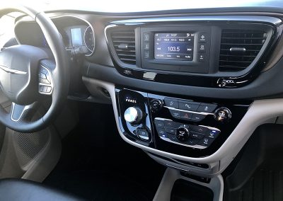 Pacifica Minivan - interior