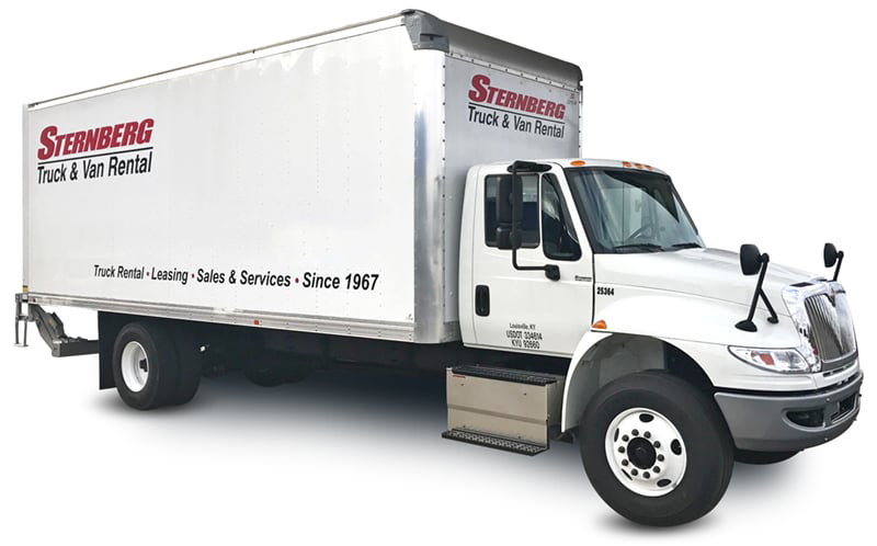 24 Ft Box Truck rental