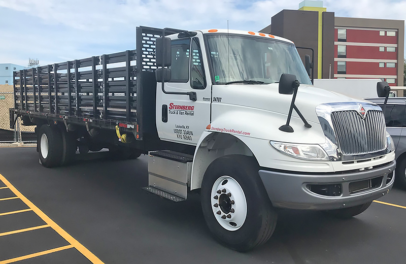 24 Ft Stake Truck rental