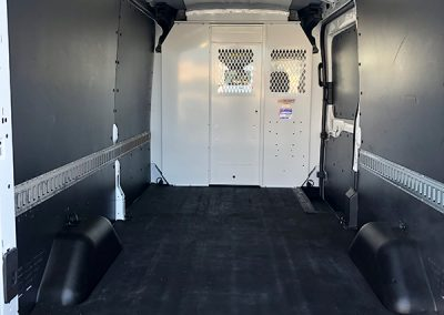 Mid-Roof Cargo Van ¾ Ton Rental interior