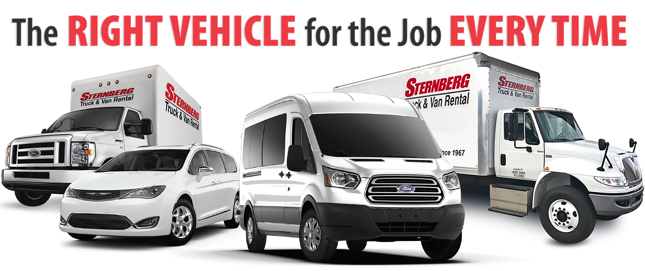 Louisville Rental Truck and Vans - The Right Vehicle for the Job Every time!