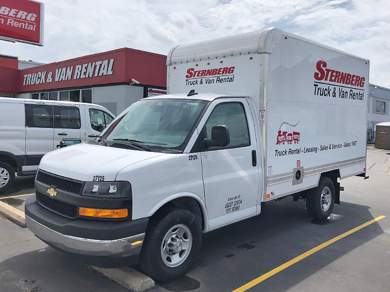 12' Cube Truck rental